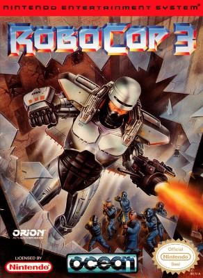 RoboCop 3 Cover Art