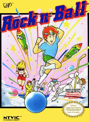 Rock 'n Ball Cover Art