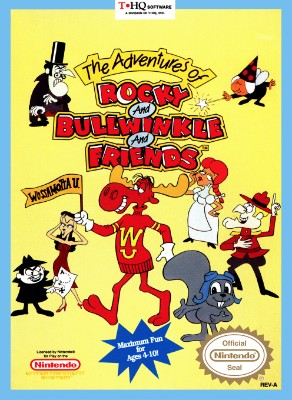 Adventures of Rocky and Bullwinkle And Friends