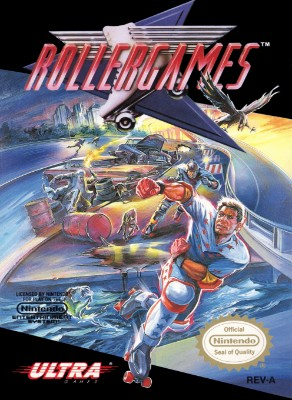 Rollergames Cover Art