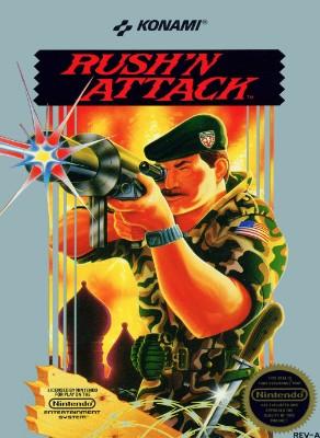 Rush'n Attack Cover Art