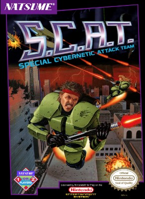 S.C.A.T. Cover Art
