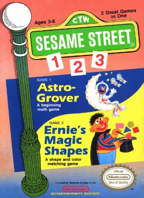 Sesame Street: 123 Cover Art