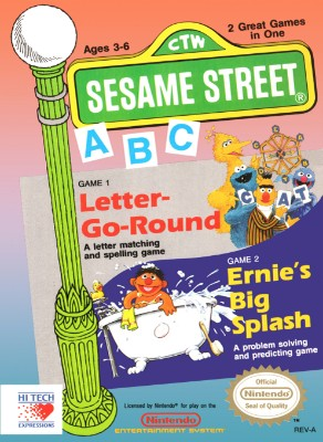 Sesame Street: ABC Cover Art