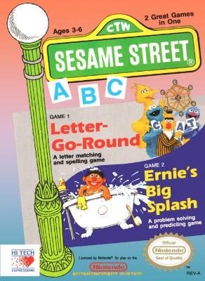 Sesame Street: ABC Cover Art