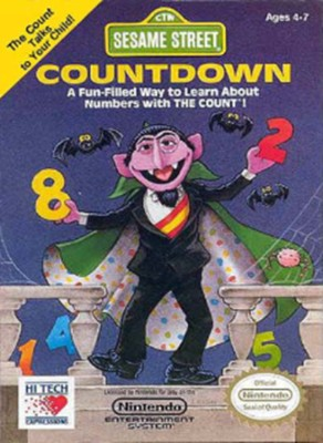 Sesame Street: Countdown Cover Art