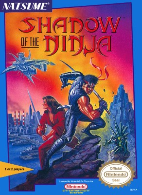 Shadow of the Ninja Cover Art