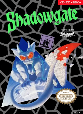 Shadowgate Cover Art
