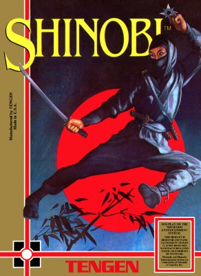 Shinobi Cover Art