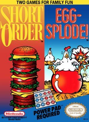 Short Order/Eggsplode Cover Art
