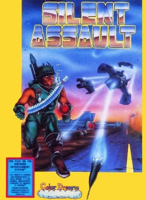 Silent Assault [Blue] Cover Art