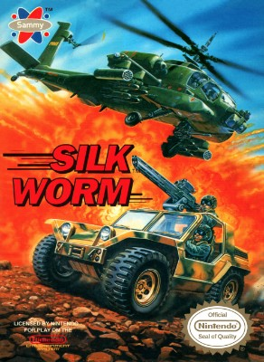 Silk Worm Cover Art