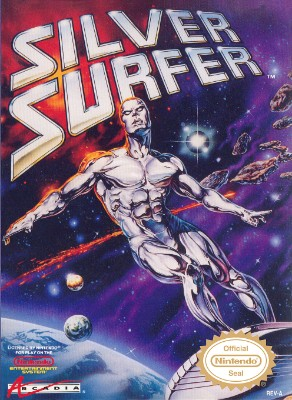 Silver Surfer Cover Art