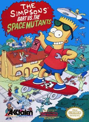 Simpsons: Bart Vs. the Space Mutants Cover Art