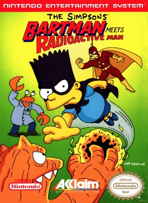 Simpsons: Bartman Meets Radioactive Man Cover Art