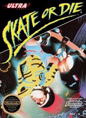 Skate or Die Cover Art