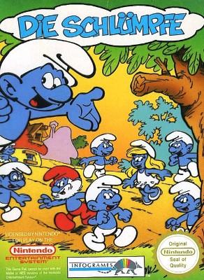 Smurfs [PAL] Cover Art
