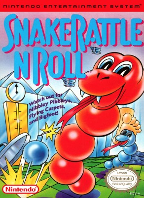 Snake Rattle n Roll Cover Art