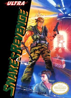 Snake's Revenge Cover Art