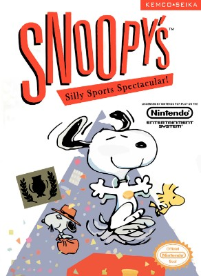 Snoopy's Silly Sports Spectacular Cover Art