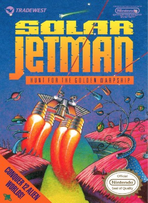 Solar Jetman: Hunt for the Golden Warpship Cover Art