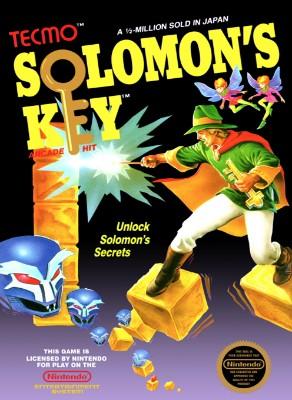 Solomon's Key Cover Art