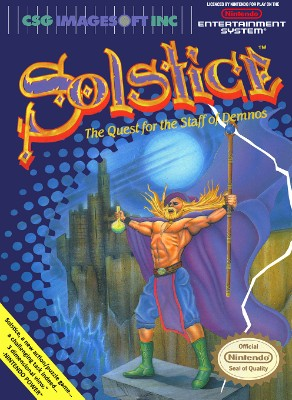 Solstice: The Quest for the Staff of Demnos Cover Art