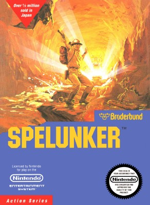 Spelunker Cover Art