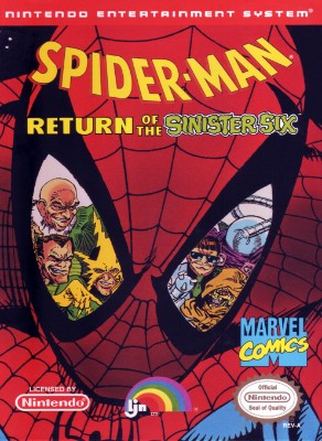Spider-Man: Return of the Sinister Six Cover Art