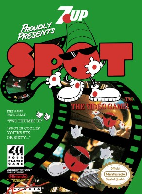 Spot: The Videogame! Cover Art