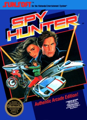 Spy Hunter Cover Art