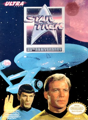Star Trek 25th Anniversary Cover Art