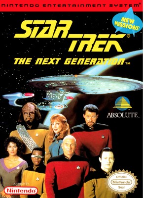 Star Trek: The Next Generation Cover Art