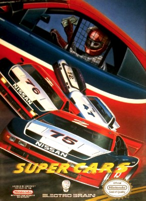 Super Cars Cover Art