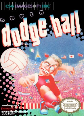 Super Dodge Ball Cover Art
