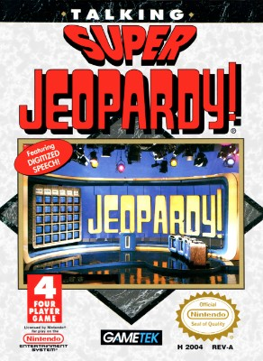 Super Jeopardy! Cover Art