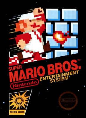 Super Mario Bros. Cover Art