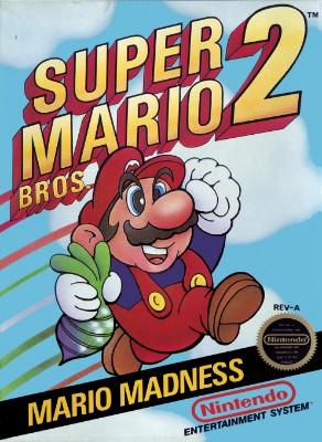 Super Mario Bros. 2 Cover Art