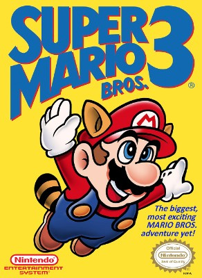 Super Mario Bros. 3 Cover Art