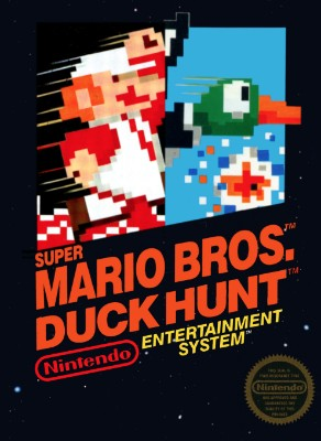 Super Mario Bros. / Duck Hunt Cover Art