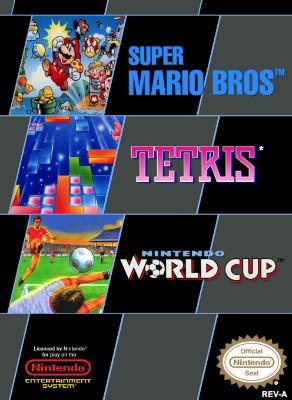 Super Mario Bros. / Tetris / Nintendo World Cup [PAL] Cover Art