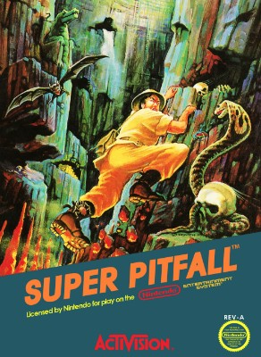 Super Pitfall Cover Art