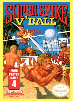 Super Spike V'Ball Cover Art