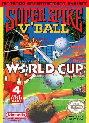Super Spike V'Ball / Nintendo World Cup Cover Art