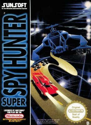 Super Spy Hunter Cover Art