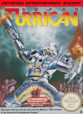 Super Turrican [PAL] Cover Art