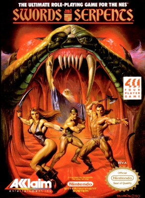 Swords and Serpents Cover Art