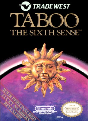 Taboo: The Sixth Sense Cover Art