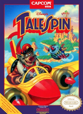TaleSpin, Disney's Cover Art