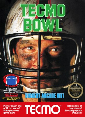 Tecmo Bowl Cover Art